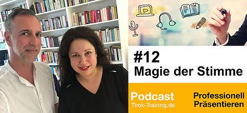 Podcast 14.05.2018 Ein wunderbares Gespräch mit Markus Tirok über die Magie der Stimme